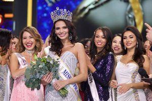 Vẻ đẹp gợi cảm của tân Hoa hậu Siêu quốc gia