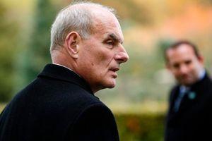 Chánh văn phòng Nhà Trắng John Kelly sắp từ chức