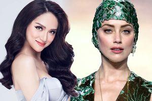 Hoa hậu Hương Giang sẽ sang Philippines đọ sắc với mỹ nhân Amber Heard tại họp báo phim 'Aquaman'