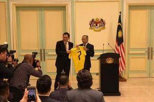 Đội tuyển Malaysia nhận thông điệp từ Thủ tướng: 'Đừng để đất nước thất vọng'