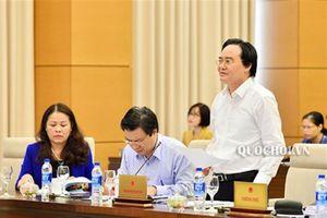 Đbqh Dương Minh ánh: trả lời chất vấn của Bộ trưởng bộ gd&đt chưa thỏa đáng...