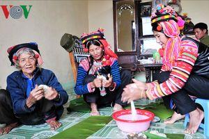 Hình ảnh Tết cổ truyền của người Hà Nhì ở Lai Châu