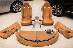 Chi tiết bộ nội thất trị giá 150.000 USD của Bugatti Veyron