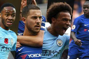 Đội hình kết hợp Chelsea vs Man City: 'Tam tấu' H-S-S