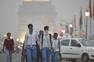 Không khí ô nhiễm ở Ấn Độ giết chết 1,24 triệu người