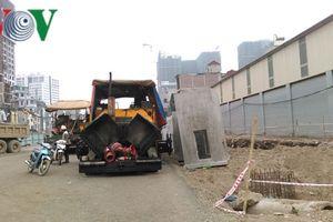 Tăng tốc thực hiện dự án đường vành đai 2 đoạn Vĩnh Tuy-Ngã Tư Vọng