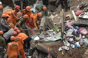 Lở đất tại đảo Bali, Indonesia: 4 thi thể vẫn bị vùi dưới đống đổ nát