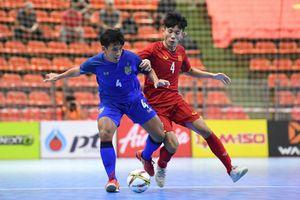 Highlights Việt Nam 1-1 Thái Lan: Vòng loại U20 futsal châu Á