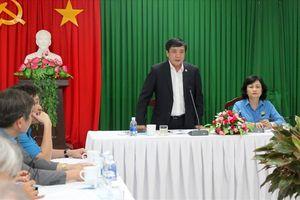 Chủ tịch Tổng LĐLĐVN làm việc với LĐLĐ tỉnh Thừa Thiên - Huế