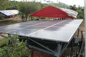 Phát triển điện mặt trời bền vững