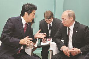 V.Putin, Shinzo Abe, đảo Kuril và Hiệp ước hòa bình