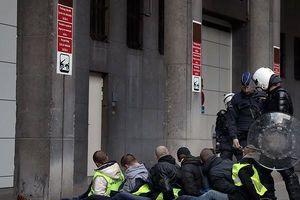 Biểu tình 'Áo vàng' lan sáng Bỉ, 450 người bị bắt giữ
