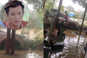 Showbiz 9/12: Hà Việt Dũng kêu trời vì nhà ở Đà Nẵng ngập nước