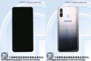 Samsung Galaxy A8s chi tiết hơn: màn hình nốt ruồi, RAM 8GB, 3 camera sau
