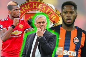 Mourinho 'nuốt lời' khi từng hứa biến Fred thành bộ ba tiền vệ trong mơ của M.U