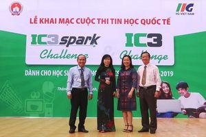 Cuộc thi Tin học quốc tế IC3 Spark Challenge và IC3 Challenge