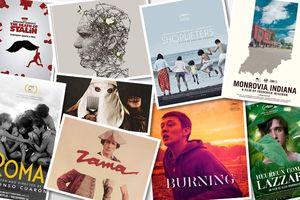 New York Times lựa chọn 10 phim điện ảnh và 12 diễn viên xuất sắc nhất năm 2018, trong đó có 'Burning' và Yoo Ah In của Hàn Quốc