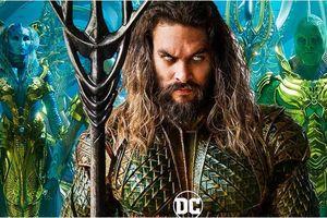 'Aquaman' thu về gần 100 triệu USD tại Trung Quốc sau 3 ngày cuối tuần đầu tiên công chiếu