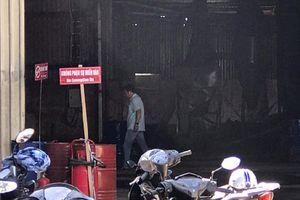 Cháy tại cơ sở kinh doanh xăng dầu, 2 người bị bỏng nặng ở Sài Gòn