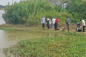 Phát hiện thi thể người đàn ông lái ba gác cạnh trạm bơm thủy lợi