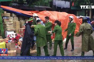 Khống chế đám cháy lớn gần chợ Vinh, Nghệ An