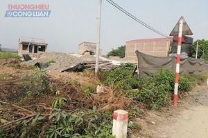 Xã Tân Hội (Hà Nội): Hàng loạt công trình xây dựng trái phép trên đất nông nghiệp