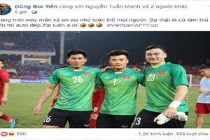 Cầu thủ đội tuyển Việt Nam đăng gì trên MXH sau khi đánh bại Philippines?