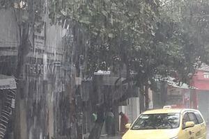 Đà Nẵng: Mưa lớn gây ngập sâu nhiều tuyến phố trung tâm