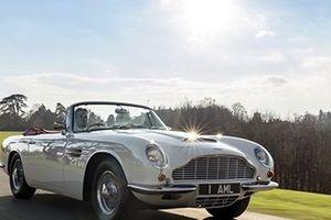 Xe cổ Aston Martin DB6 1970 sẽ được lắp… động cơ điện