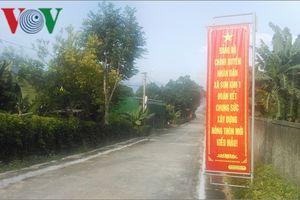 Xây dựng nông thôn mới tại Hà Tĩnh: Dừng lại là rớt chuẩn