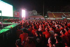 Nhiều tỉnh/thành phố tổ chức xem chung kết lượt đi AFF Cup Việt Nam - Malaysia