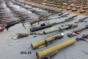 Quân đội Syria thu được vũ khí chống tăng lạ và cực kỳ nguy hiểm từ phiến quân