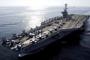 Siêu tàu sân bay Mỹ tiến vào Trung Đông, không chỉ có mình Syria, Iran lo sợ?