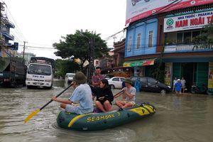 Tam Kỳ, Quảng Nam 'thất thủ' do mưa lớn