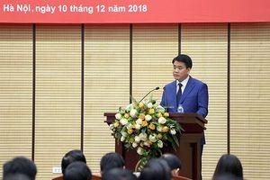 Chủ tịch Nguyễn Đức Chung: Quyết tâm thi đua ngay từ những ngày đầu năm 2019