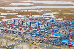 Nga tổng lực sản xuất khí đốt, khí hóa lỏng