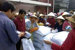Xuất cấp gạo cho tỉnh Thanh Hóa