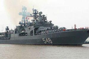Tàu chiến Nga ùn ùn tới Ấn Độ tập trận 'nắn gân' Ukraine, NATO