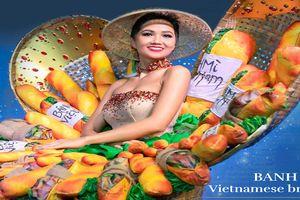 'Bánh mì' lọt top 4 trang phục dân tộc ấn tượng Hoa hậu Hoàn vũ 2018