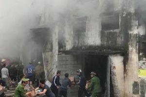Bộ Công an vào cuộc điều tra vụ cháy kho hàng 2.000m2 tại chợ Vinh