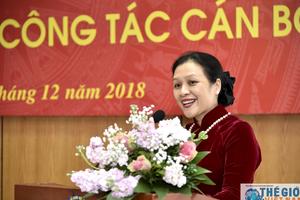 Trao Quyết định Bí thư Đảng đoàn Liên hiệp các tổ chức hữu nghị Việt Nam