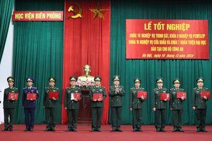 Học viện Biên phòng tổ chức lễ tốt nghiệp cho 4 khóa đào tạo