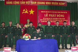 BĐBP Phú Yên phát động đợt thi đua đặc biệt chào mừng kỷ niệm Ngày Truyền thống BĐBP