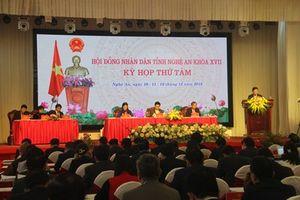 Khai mạc Kỳ họp thứ 8, khóa XVII, nhiệm kỳ 2016-2021 HĐND tỉnh Nghệ An