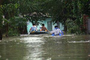Quảng Nam: Hàng trăm nhà dân chìm trong biển nước sau trận mưa lịch sử