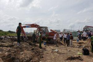Nổ lớn tại dự án bờ kè hồ Bún Xáng, 2 người bị thương