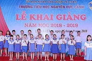 Trường Tiểu học Nguyễn Đức Cảnh: Phấn đấu trở thành 'Ngôi trường của ước mơ và lòng nhân ái'