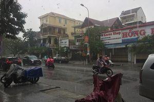 Thừa Thiên Huế: Mưa lớn, cảnh báo nguy cơ xuất hiện lũ các triền sông