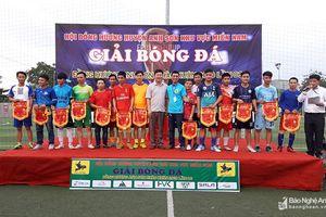 15 đội bóng tranh giải 'Đồng hương Anh Sơn chào xuân mới' ở miền Nam