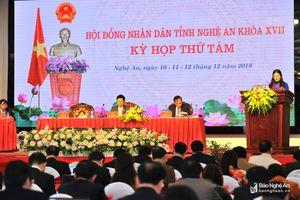 HĐND tỉnh Nghệ An bầu bổ sung chức danh Ủy viên UBND tỉnh, nhiệm kỳ 2016 - 2021